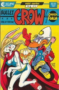 Cover Thumbnail for Bullet Crow, Fowl of Fortune (Eclipse, 1987 series) #1