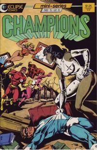 Cover Thumbnail for Champions (Eclipse, 1986 series) #5