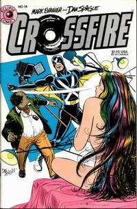 Cover Thumbnail for Crossfire (Eclipse, 1984 series) #14