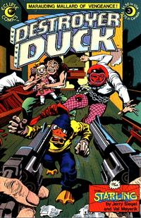 Cover Thumbnail for Destroyer Duck (Eclipse, 1982 series) #3