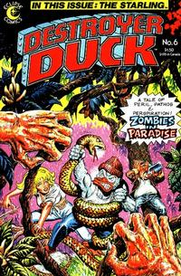 Cover Thumbnail for Destroyer Duck (Eclipse, 1982 series) #6