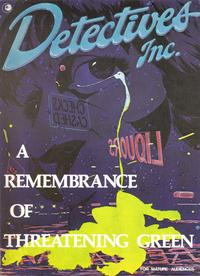 Cover Thumbnail for Detectives, Inc. (Eclipse, 1980 series) #[nn]