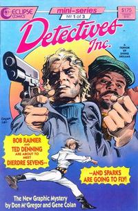 Cover Thumbnail for Detectives, Inc.: A Terror of Dying Dreams (Eclipse, 1987 series) #1