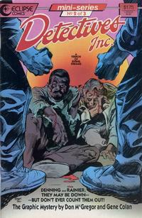 Cover Thumbnail for Detectives, Inc.: A Terror of Dying Dreams (Eclipse, 1987 series) #2