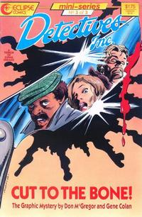 Cover Thumbnail for Detectives, Inc.: A Terror of Dying Dreams (Eclipse, 1987 series) #3