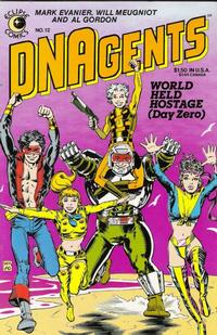 Cover Thumbnail for The DNAgents (Eclipse, 1983 series) #12