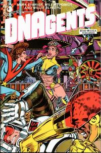 Cover Thumbnail for The DNAgents (Eclipse, 1983 series) #14