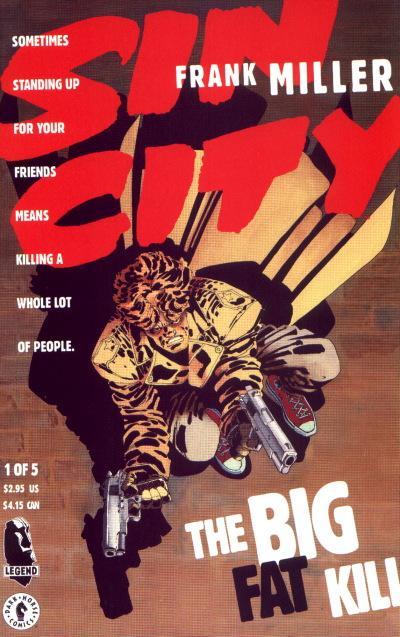 Cover for Sin City: The Big Fat Kill (Dark Horse, 1994 series) #1