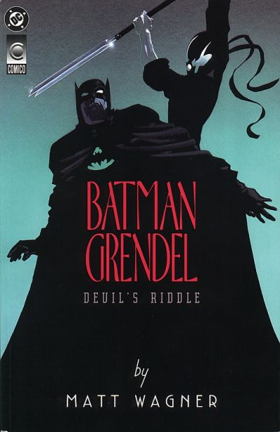 Cover for Batman / Grendel: Devil's Riddle (DC, 1993 series) #1
