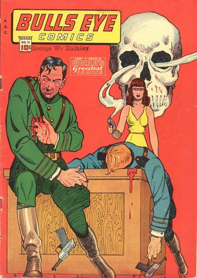 Cover for Bulls Eye Comics (Chesler / Dynamic, 1944 series) #11