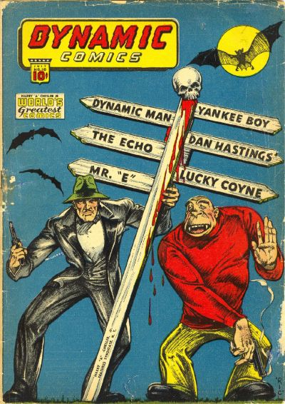 Cover for Dynamic Comics (Chesler / Dynamic, 1941 series) #10
