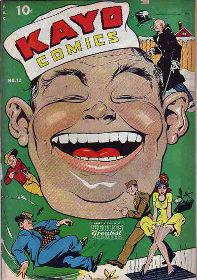 Cover for Kayo Comics (Chesler / Dynamic, 1945 series) #12