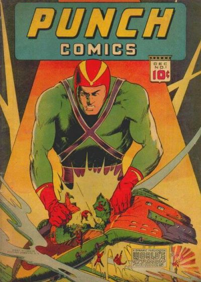 Cover for Punch Comics (Chesler / Dynamic, 1941 series) #1