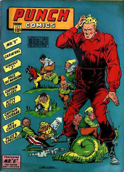 Cover for Punch Comics (Chesler / Dynamic, 1941 series) #2