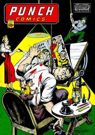 Cover for Punch Comics (Chesler / Dynamic, 1941 series) #9
