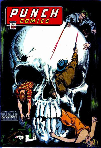 Cover for Punch Comics (Chesler / Dynamic, 1941 series) #12