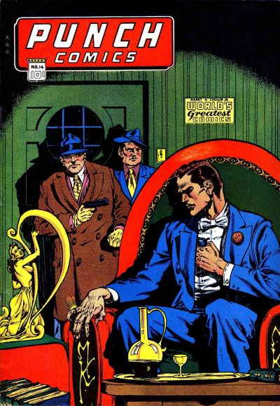 Cover for Punch Comics (Chesler / Dynamic, 1941 series) #14