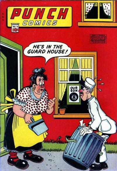 Cover for Punch Comics (Chesler / Dynamic, 1941 series) #16