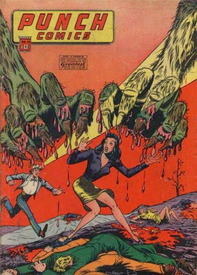 Cover for Punch Comics (Chesler / Dynamic, 1941 series) #19