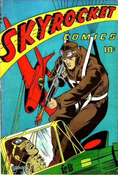 Cover for Skyrocket Comics (Chesler / Dynamic, 1944 series)