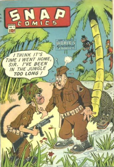 Cover for Snap Comics (Chesler / Dynamic, 1944 series) #9