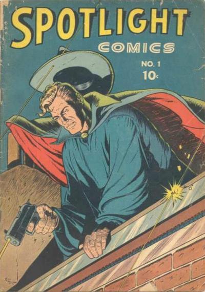 Cover for Spotlight Comics (Chesler / Dynamic, 1944 series) #1