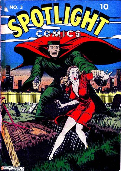 Cover for Spotlight Comics (Chesler / Dynamic, 1944 series) #3