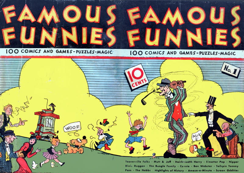 Cover for Famous Funnies (Eastern Color, 1934 series) #1