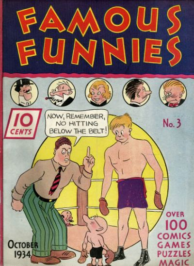 Cover for Famous Funnies (Eastern Color, 1934 series) #3