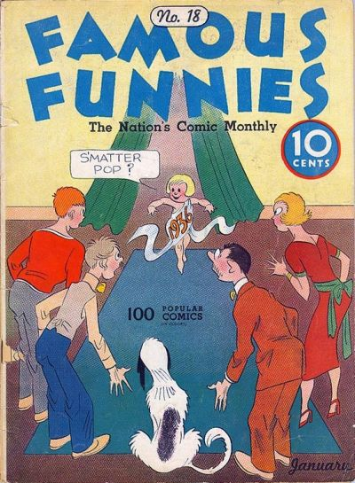 Cover for Famous Funnies (Eastern Color, 1934 series) #18