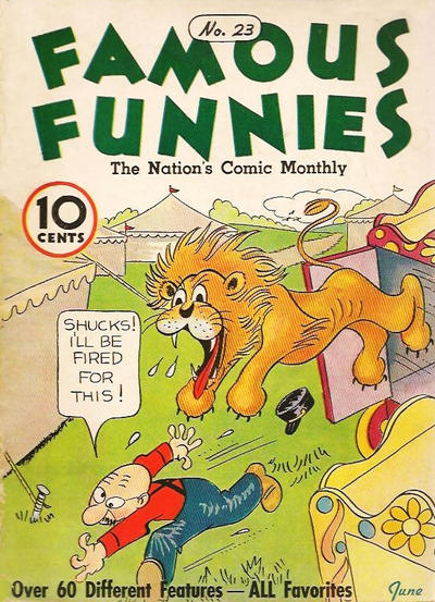Cover for Famous Funnies (Eastern Color, 1934 series) #23
