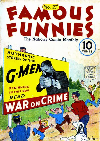 Cover for Famous Funnies (Eastern Color, 1934 series) #27