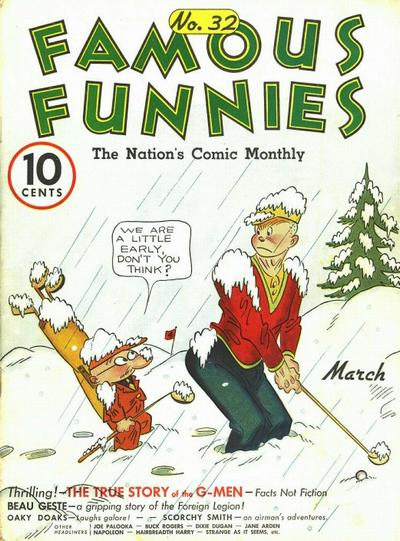Cover for Famous Funnies (Eastern Color, 1934 series) #32