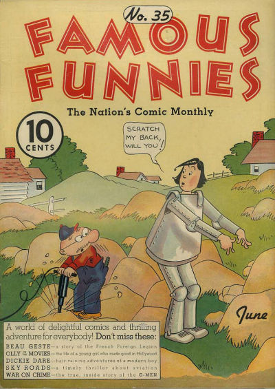 Cover for Famous Funnies (Eastern Color, 1934 series) #35