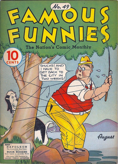 Cover for Famous Funnies (Eastern Color, 1934 series) #49