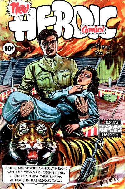 Cover for New Heroic Comics (Eastern Color, 1946 series) #51