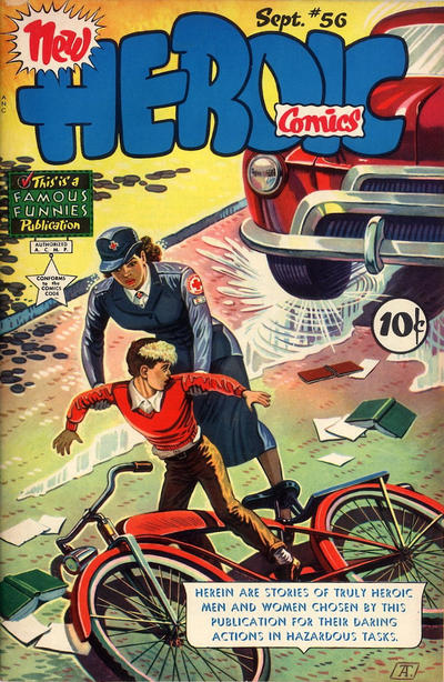 Cover for New Heroic Comics (Eastern Color, 1946 series) #56