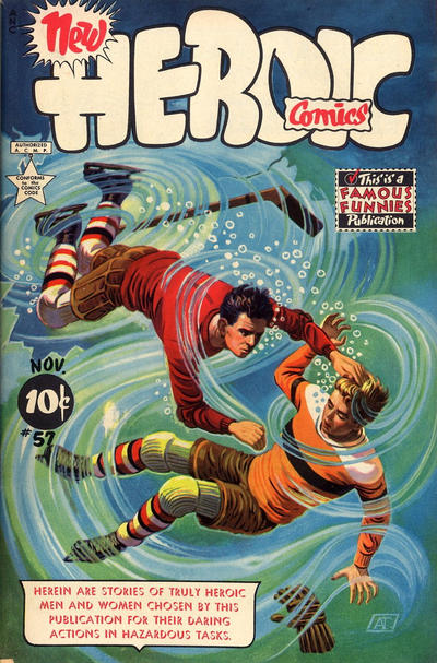 Cover for New Heroic Comics (Eastern Color, 1946 series) #57