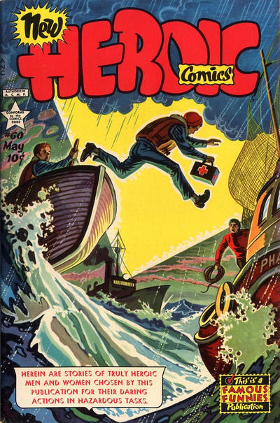 Cover for New Heroic Comics (Eastern Color, 1946 series) #60