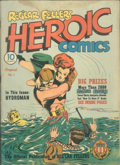 Cover for Reg'lar Fellers Heroic Comics (Eastern Color, 1940 series) #1