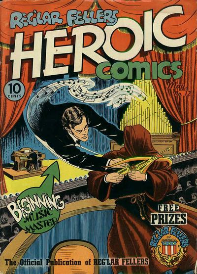 Cover for Reg'lar Fellers Heroic Comics (Eastern Color, 1940 series) #12