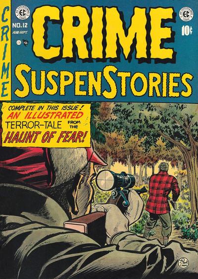 Cover for Crime SuspenStories (EC, 1950 series) #12