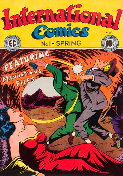 Cover for International Comics (EC, 1947 series) #1