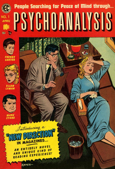 Cover for Psychoanalysis (EC, 1955 series) #1