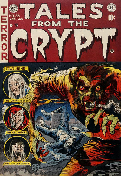 Cover for Tales from the Crypt (EC, 1950 series) #35