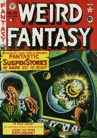 Cover for Weird Fantasy (EC, 1950 series) #14