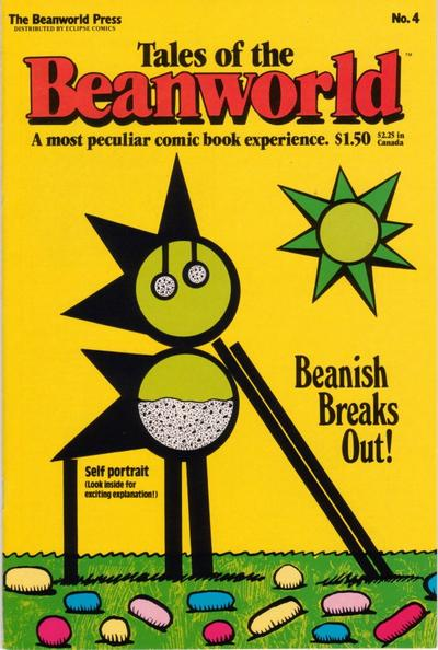 Cover for Tales of the Beanworld (Beanworld Press, 1985 series) #4