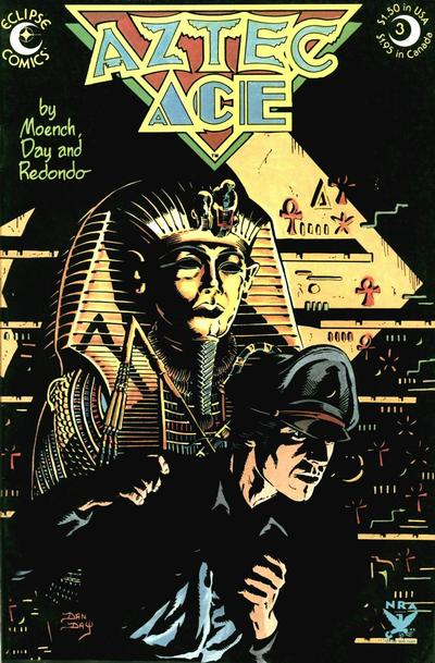 Cover for Aztec Ace (Eclipse, 1984 series) #3