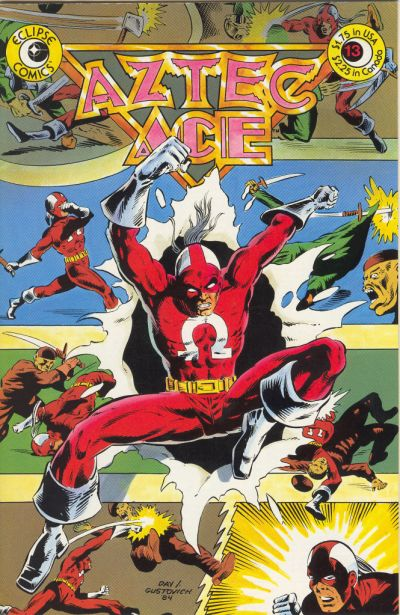 Cover for Aztec Ace (Eclipse, 1984 series) #13