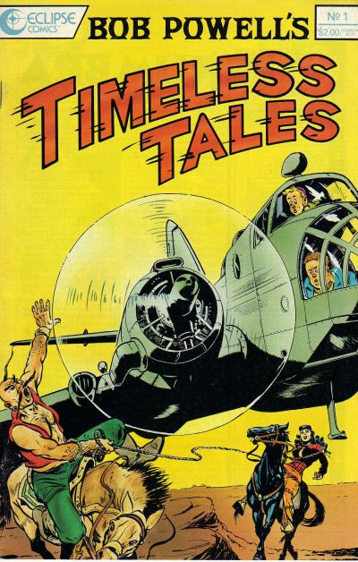 Cover for Bob Powell's Timeless Tales (Eclipse, 1989 series) #1